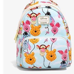 NWT Disney Loungefly Winnie the Pooh balloon head